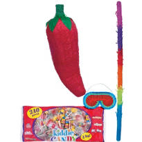 Chili Pepper Pinata Kit