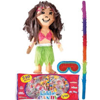 Hula Girl Pinata Kit