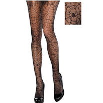 Black Spider Web Stockings