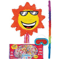 Pull String Sun Pinata Kit