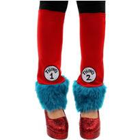 Thing 1 & Thing 2 Leg Warmers - Dr. Seuss