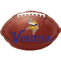 Minnesota Vikings Foil Balloon 18in