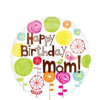 Happy Birthday Balloon - Mom