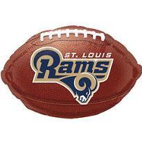 St. Louis Rams Foil Balloon 18in