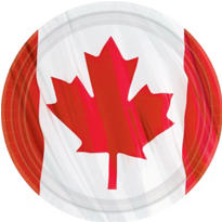 Waving Canadian Flag Party Supplies