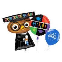 Owl Graduation Balloons