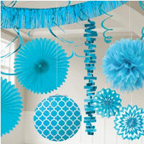 Caribbean Blue Decorations