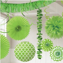 Kiwi Green Decorations