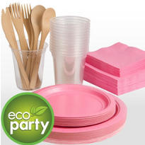 Eco Friendly Pink Tableware