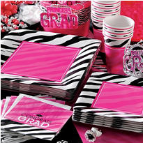 Zebra Party Personalize It Party Supplies