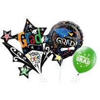 Starburst Graduation Balloons