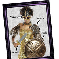 Warrior Goddess Mix & Match Women's Looks