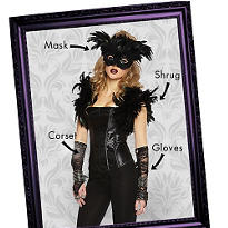 Fantasy Raven Mix & Match Women's Looks