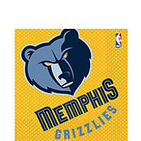 Memphis Grizzlies Party Supplies