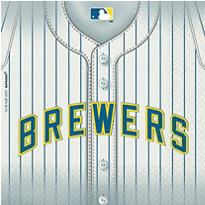 MLB Milwaukee Brewers Party Supplies