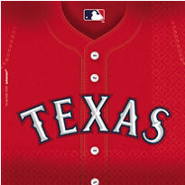 MLB Texas Rangers Party Supplies