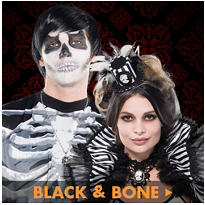 Skeletons - Black and Bone Accessories