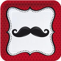 Kid's Moustache Party Supplies