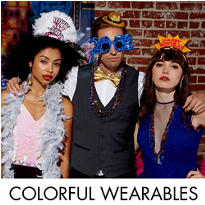 Colorful Brights New Year's Eve Wearables