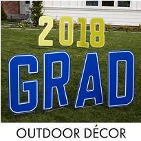 Outdoor Graduation Decorations