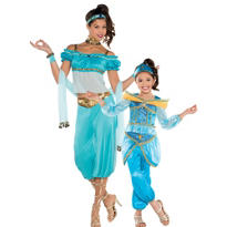 Jasmine Mommy and Me Costumes