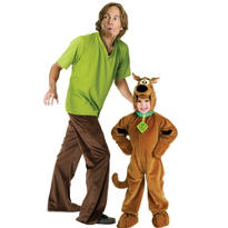 Scooby-Doo and Shaggy Scooby-Doo Daddy and Me Costumes
