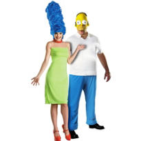 Deluxe Simpsons Couples Costumes