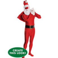 Adult Santa Morphsuit Costume Set
