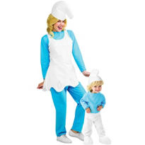 Smurfs Mommy and Me Costumes