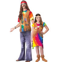 Hippie Daddy and Me Costumes