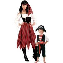 Pirates Mommy and Me Costumes