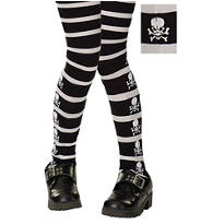 Child Skull & Crossbones Tights