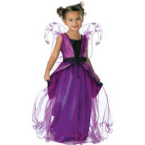 Toddler Girls Purple Butterfly Princess Costume Deluxe