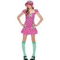 Teen Girls Rasberry Girl Costume