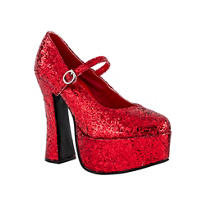 Dorothy's Ruby Platform Shoes