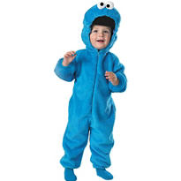 Toddler Boys Cookie Monster Costume Deluxe