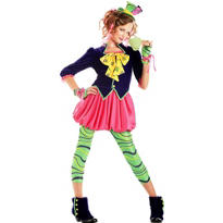 Teen Girls Sweet Mad Hatter Costume