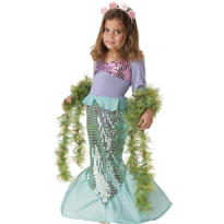 Toddler Girls Lil' Mermaid Costume