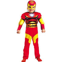 Toddler Boys Iron Man Costume