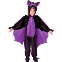 Toddler Boys Plush Lil Bat Costume