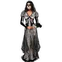 Adult Boneyard Bride Costume Elite