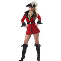 Adult Captain's Treasure Pirate Costume