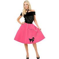 Adult 50s Poodle Skirt Costume