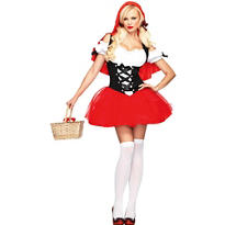 Adult Racy Red Riding Hood Costume