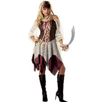 Adult South Seas Siren Costume - Pirate