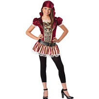 Girls Swashbuckling Sass Pirate Costume