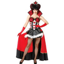 Adult Dark Queen of Hearts Costume