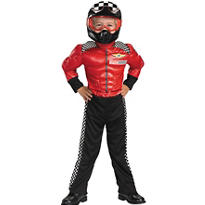 Toddler Boys Turbo Racer Muscle Costume