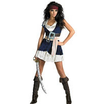 Adult Sassy Jack Sparrow Costume - Pirates of the Caribbean