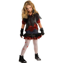 Girls Zombie-ista Zombie Costume